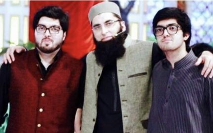 Junaid Jamshed's sons release videos in his memory