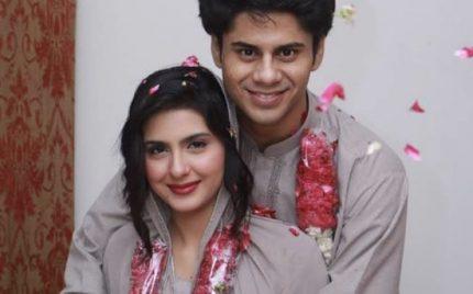 Udaari actors,Haris Waheed and Maryam Fatima tie the knot