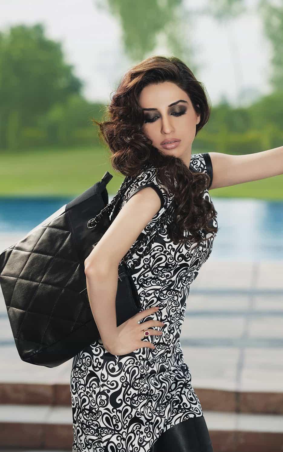 Model Iman Ali Photoshoot 3