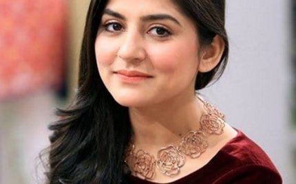 Sanam Baloch is back to the screens!