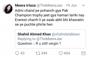 Meera Jee and her twitter savagery!
