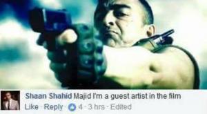 Shaan: A guest star in Yalghaar?
