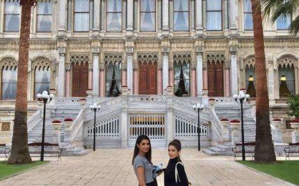 Ayesha Omar and Amna Ilyas in Turkey