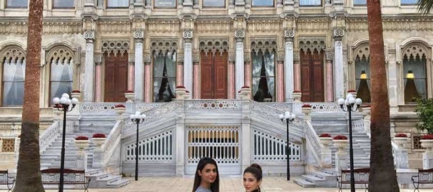 Ayesha Omar and Amna Ilyas in Turkey