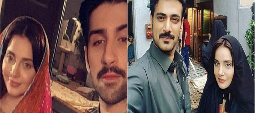 BTS Shots From The Sets Of Zahid Ahmed's 'Daldal'