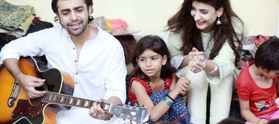Farhan Saeed and Urwa Hocane celebrate their Eid at an orphanage