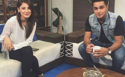 Asim Azhar and Hina Altaf together in Hum TV's new drama