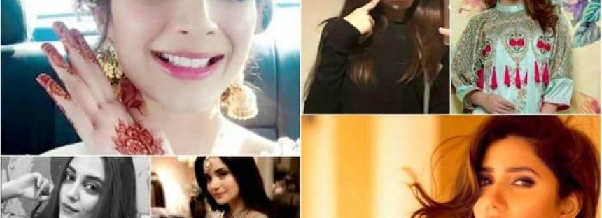 Most followed Pakistani celebrities on instagram