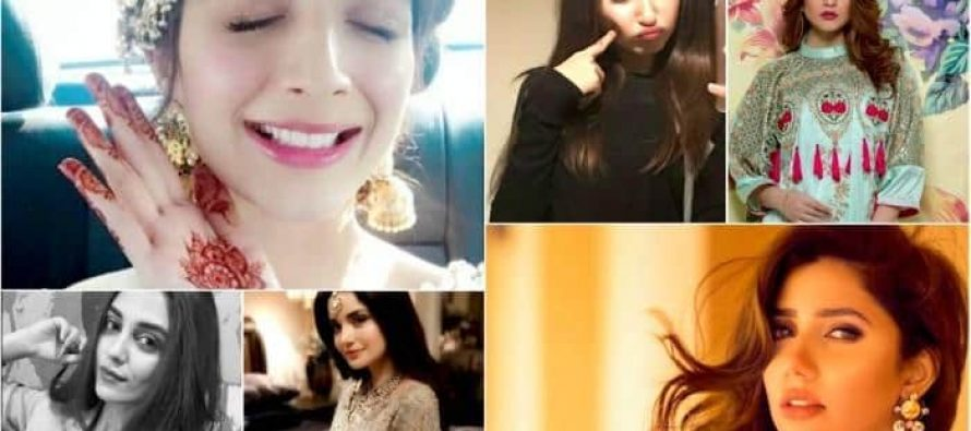 Most followed Pakistani celebrities on instagram