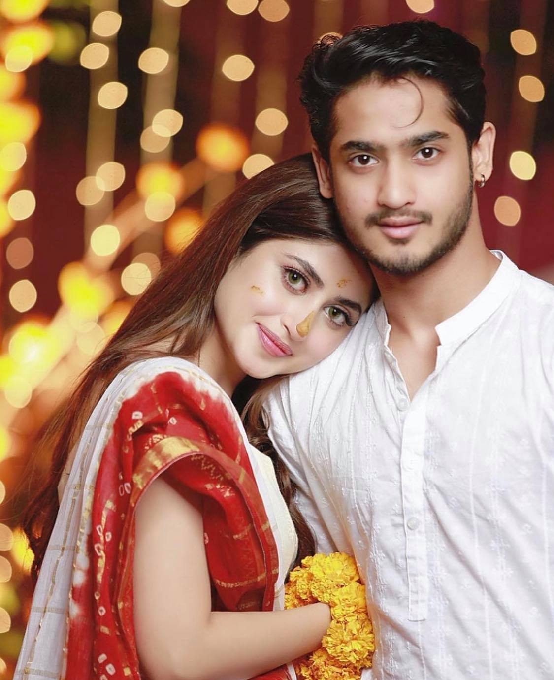 sajal ali brother