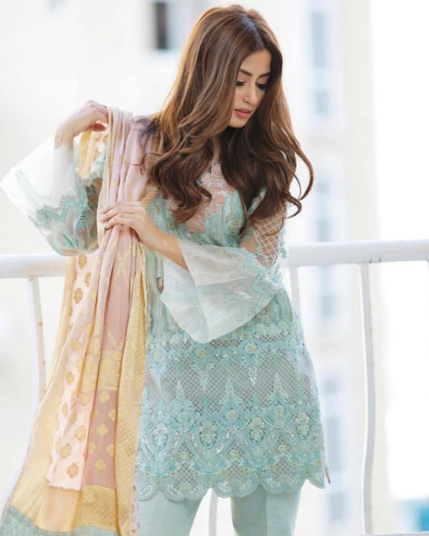 sajal ali dresses