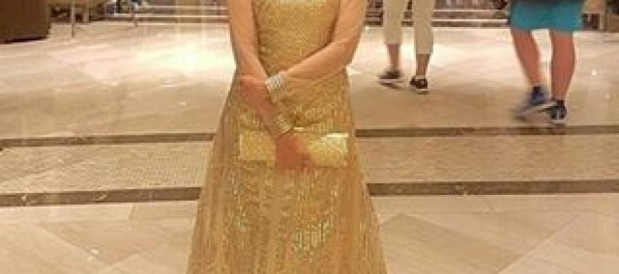 Nida Yasir Attends IIFA Awards 2017