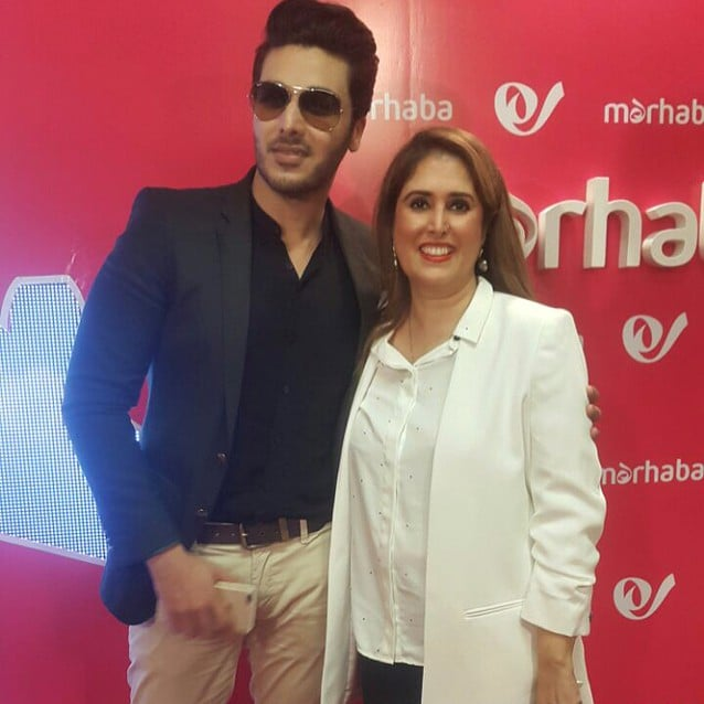Celebrities Spotted At The Inauguration Of Marhaba Lounge Inside Jinnah Terminal