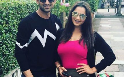 Shoaib And Sania Lately Spotted In London