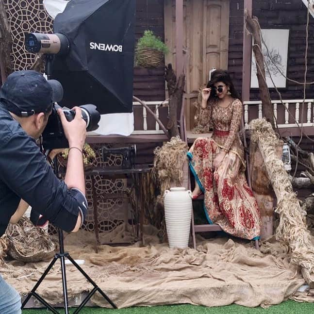 Urwa Hocane's Vibrant Photoshoot For 'Mag The Weekly'