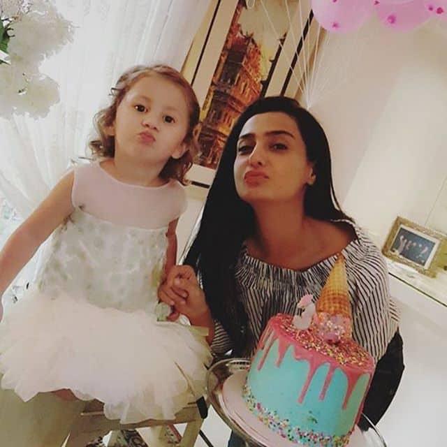 Syra and Shehroz Celebrates Birthday Of Their Daughter