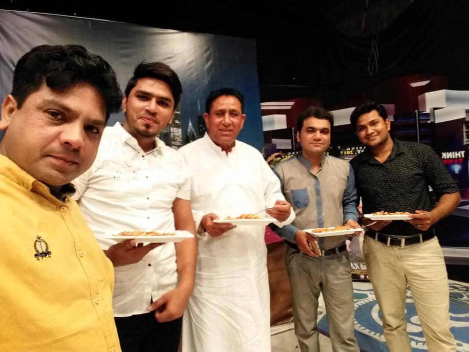 Team 'Geo Sar Utha K', At The Movie Promotions