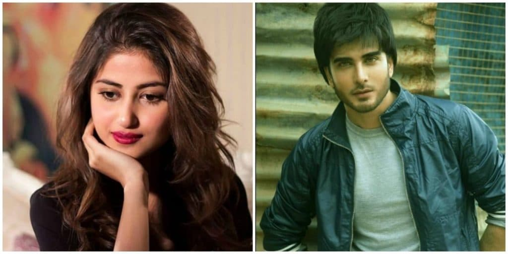 Sajal To Be Seen With Imran Abbas!