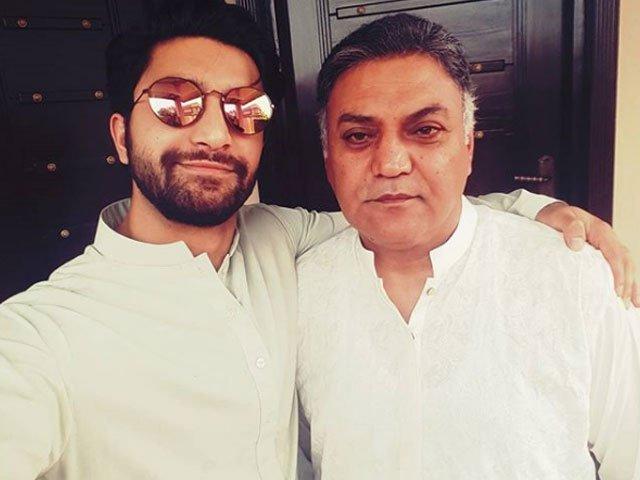 Ahad Raza Mir father