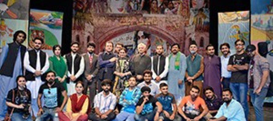 Ajoka's Acting Workshop in Lahore