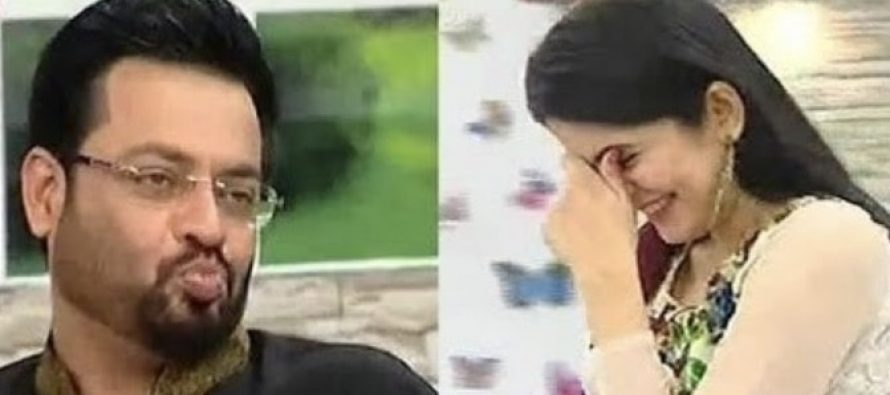 Sanam Baloch And Her Guests Make Fun Of Amir Liaquat