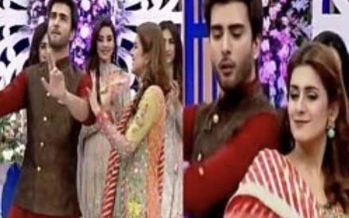 Imran Abbas and Kubra Khan Rock The Dance Floor Together