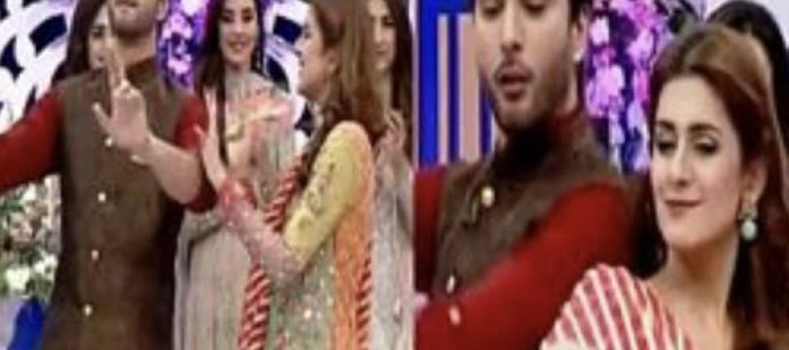 Imran Abbas and Kubra Khan Rock The Dance Floor Together