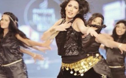 Watch Mehwish Hayat's Energetic Dance Rehearsal