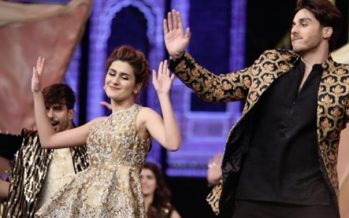 Kubra And Ahsan Khan Practise Their Moves Together