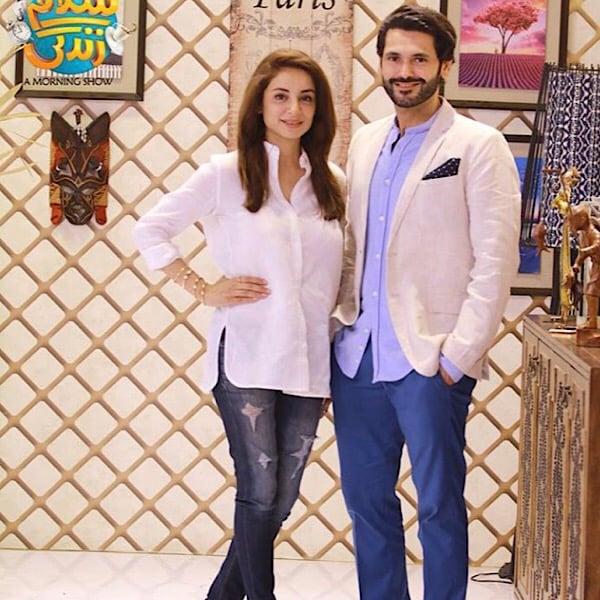 Sarwat Gillani And Fahad Mirza Get Candid On Salam Zindagi