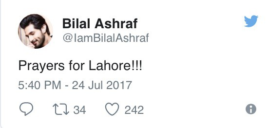 Celebrities Mourn The Lahore Attack