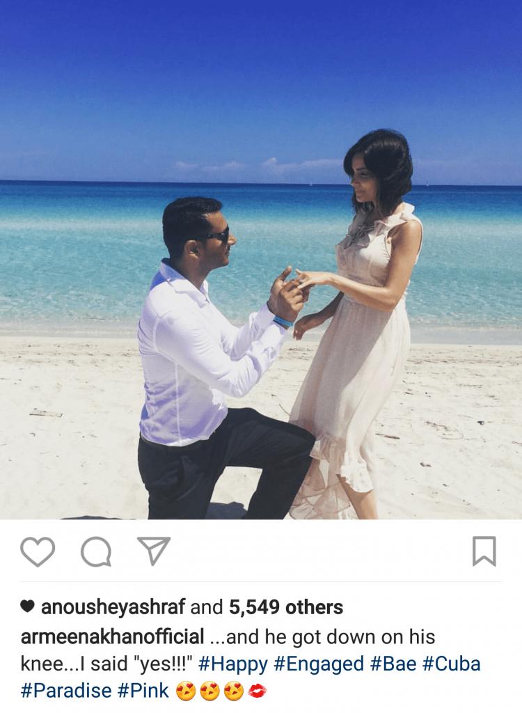 Armeena Gets Engaged!