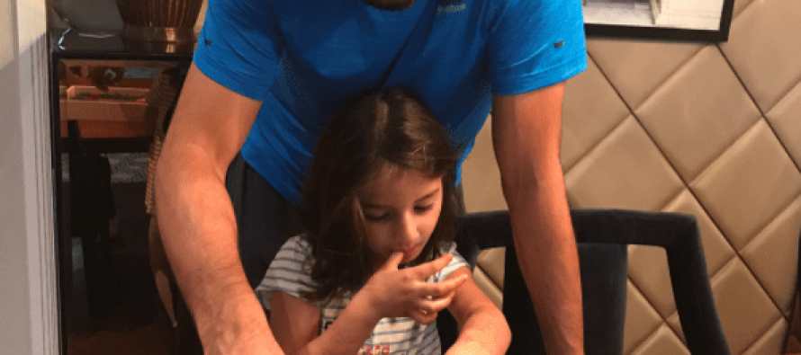 This Video Of Shahid Afridi With Daughter Is Absolutely Adorable