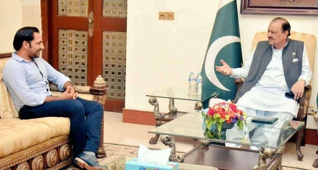 President Of Pakistan Invites Sarfaraz Ahmed