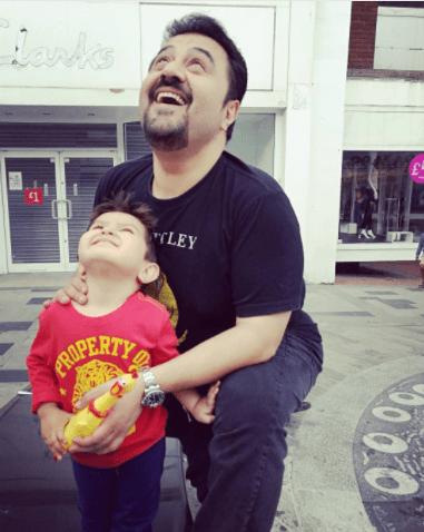 Ahmed Ali Butt Enjoying Summer Break With His Family In London
