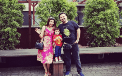 Ahmed Ali Butt Enjoying Summer Break With His Family In London