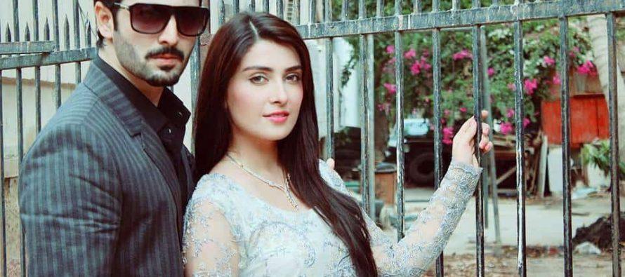 Ayeza Khan's Reaction on Danish Taimoor & Sana Javed's Romantic Scenes!