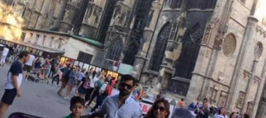 Mohammad Hafeez Exploring Austria With Family
