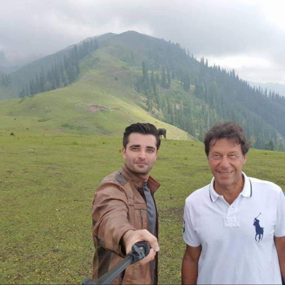 hamza ali abbasi and imran khan