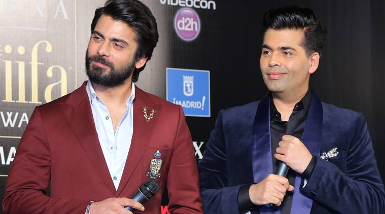 karan johar and fawad khan