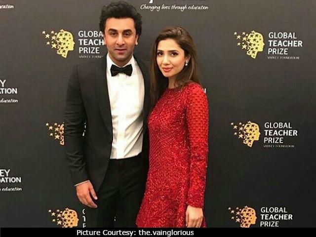 Mahira Addresses Rumours About Dating Ranbir Kapoor!