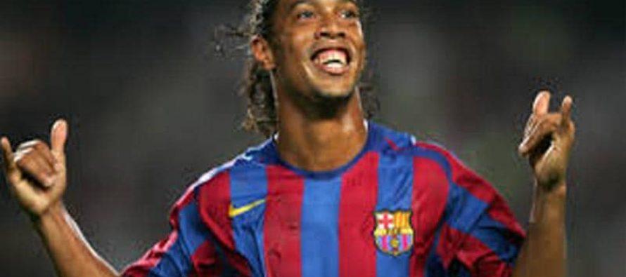Ronaldinho thanks Pakistan's Army Chief!
