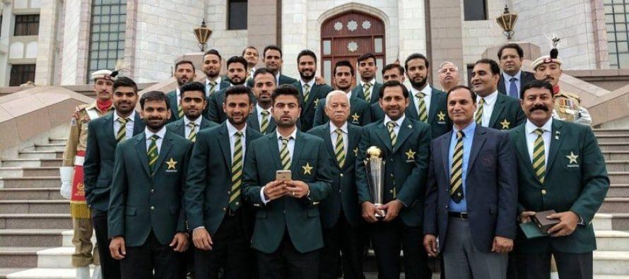 Sarfaraz Announced As Test Captain At PM House Reception