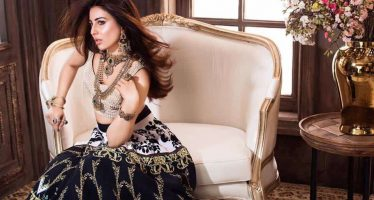 Recent Photoshoot Of Ushna Shah For Afzal Jewelers Diamond Collection