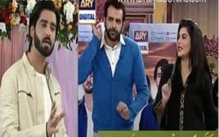 Agha Ali Reveals a Secret of Actresses in Live Show