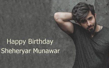 Happy Birthday Sheheryar!