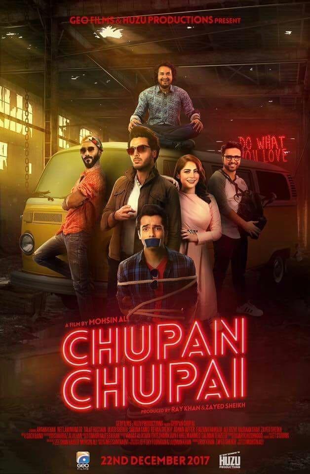 Release Date of Ahsan Khan and Neelum Munir's Chupan Chupai Announced!