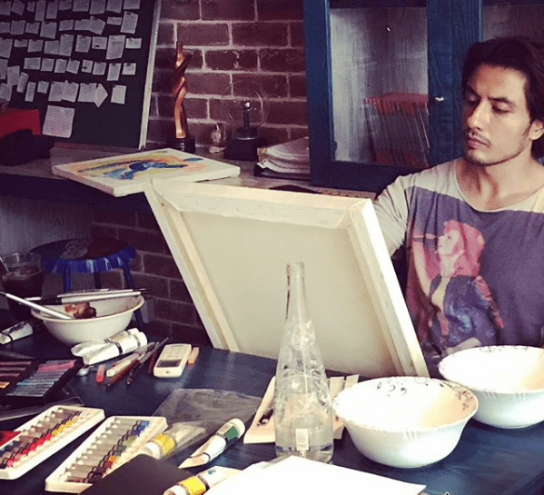 Ali Zafar Shows His Artistic Side Once Again