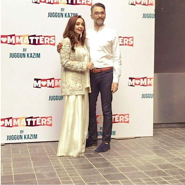 "Juggun Kazim Launches Her Book ""Mom Matters"""