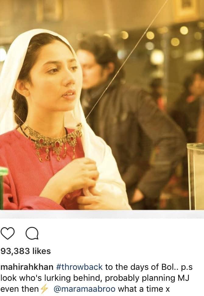 Mahira Khan In A Throwback Mood